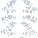 Two (2 x ) LILACS embroidery transfers ORIG DBT3197