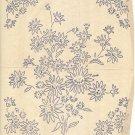Two (2 x ) FLOWER BOUQUET embroidery transfers ORIG WW