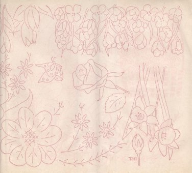 wbm transfer Spring Flowers-tulips,crocuses,narcisus,paperwhites ++ #2
