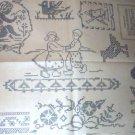 1930's Cross Stitch Cherub,Children + transfer ORG (9)