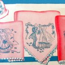 Wedding & Hope Chest Linens embroidery transfer pattern Su135