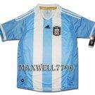 NEW 11-12 ARGENTINA HOME BLANK SOCCER SHIRT JERSEY