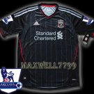 NEW 11-12 LIVERPOOL AWAY BLANK PREMIER PATCH SOCCER SHIRT JERSEY