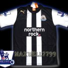 NEW 11-12 NEWCASTLE HOME BLANK PREMIER PATCH SOCCER SHIRT JERSEY