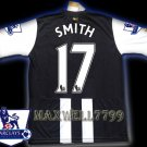 NEW 11-12 NEWCASTLE HOME SMITH 17 PREMIER PATCH SOCCER SHIRT JERSEY