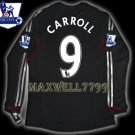 NEW 11-12 LIVERPOOL AWAY CARROLL 9 PREMIER PATCH LS SOCCER SHIRT JERSEY