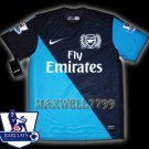 NEW 11-12 ARSENAL 3RD BLANK PREMIER PATCH SOCCER SHIRT JERSEY