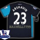 NEW 11-12 ARSENAL 3RD ARSHAVIN 23 PREMIER PATCH SOCCER SHIRT JERSEY