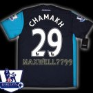 NEW 11-12 ARSENAL 3RD CHAMAKH 29 PREMIER PATCH SOCCER SHIRT JERSEY
