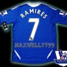 NEW 11-12 CHELSEA HOME RAMIRES 7 PREMIER PATCH SOCCER SHIRT JERSEY
