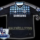 NEW 11-12 CHELSEA AWAY BLANK PREMIER PATCH SOCCER SHIRT JERSEY