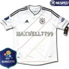 FINAL EURO 2012 GERMANY HOME BLANK EURO2012 RESPECT PATCHES SHIRT JERSEY