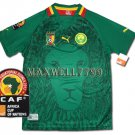 AFRICA CUP 2012 CAMEROON HOME BLANK CAF PATCHE SHIRT JERSEY