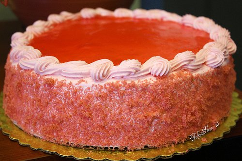 Strawberry Guava Cheesecake