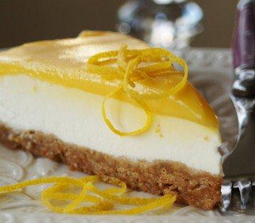 Lemon Chiffon Cheesecake