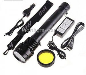 Wholesale - Super Bright 85W/65W/55W 7500lm Rechargeable Xenon Flashlight with 7800mah battery