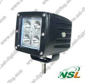 12W LED off Road Light, LED Light Bar, LED Light Waterproof (NSL-1204A)