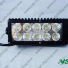 7.5 inch 30W LED work light bar offroad 2300LM Truck/Driving light bar