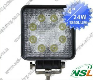 "Free shipping by China post !!4"" 24W LED Work Light ,12V 24V LED Work Light"