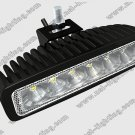 18W LED work light LED work light bar 6 LEDs work light LED offroad work light