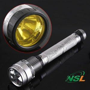 85W HID flash torch light 8500 lumen Search light hunting light HID flashlight torch xenon torch