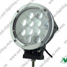 7 ''60w led Offroad light bar 12pce*5w led work light for suv boat industry truck light