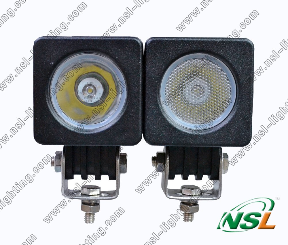 10W Cree LED Work Light Offroad Spot Beam Lamp Offroad Truck UTE Boat 12V 24V,FREE SHIPPING