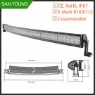 50 inch 288w off road 4x4 driving curved led light bar 50 inch waterproof
