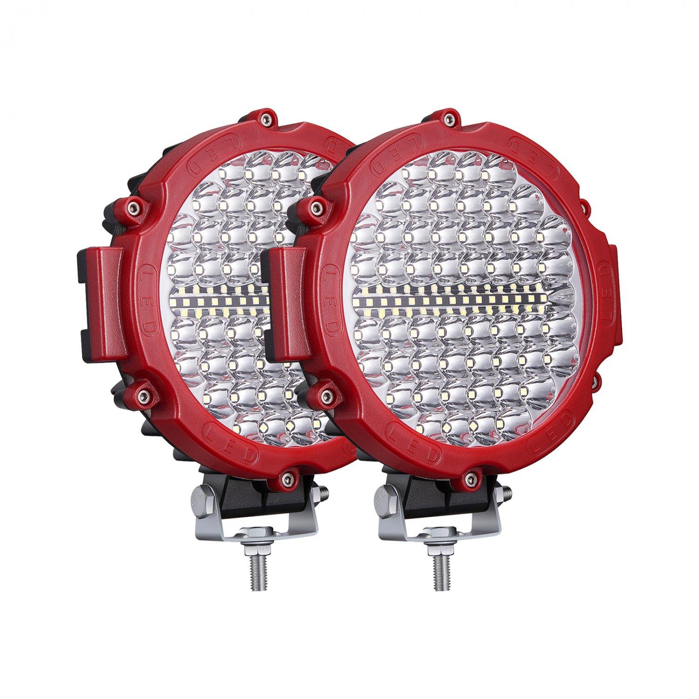 2PCS 7 Inch Round LED Off Road Light 12V 24V 210W 20000LM Combo Beam for Truck Car SUV ATV 4x4
