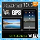 """4GB! 10.2"""" tablet pc Android 2.2 FlyTouch2 X220 1GHz GPS Camera HDMI MID"""