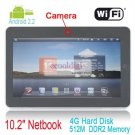 """16GB New Arrival! 10.2"""" inch SUPERPAD X220 Android 2.2 Tablet PC Camera GPS"""
