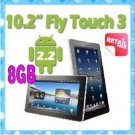 """10.2"""" Android 2.2 GPS 512mb RAM 8GB x220 HDMI support 3G GPS tablet pc"""