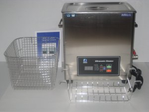 DSA200SE-GL2 14.5L 3.8GAL 800 WATT 20/40KHz HEATED INDUSTRIAL ULTRASONIC CLEANER