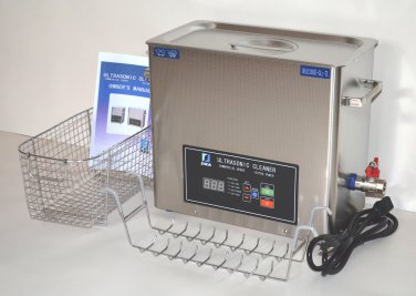 DSA210SE-GL2 7L 610 WATT 20/40 KHz DIGITAL HEATED INDUSTRIAL ULTRASONIC CLEANER
