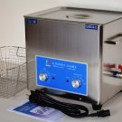 DSA280SE-XN1 10L 880W 40KHz HEATED INDUSTRIAL ULTRASONIC PARTS CLEANER WASHER MACHINE +BASKET+LID