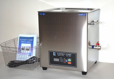 DSA420SE-GL2 20L 5.3GAL 1120W DUAL 20/40KHz DIGITAL HEATED ULTRASONIC CLEANER