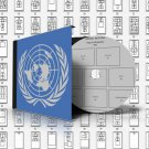UNITED NATIONS STAMP ALBUM PAGES 1951-2011 (417 pages)