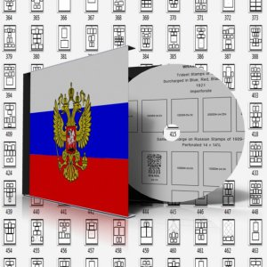RUSSIA + USSR STAMP ALBUM PAGES 1857-2011 (1122 pages)