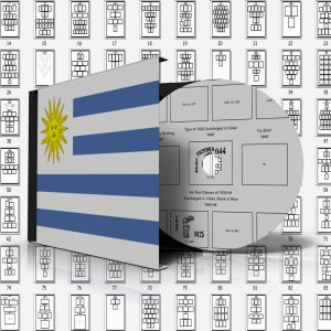 URUGUAY STAMP ALBUM PAGES 1856-2011 (358 pages)