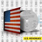 U.S.A. REVENUES STAMP ALBUM PAGES 1862-1995 (297 pages)