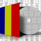 ROMANIA STAMP ALBUM PAGES 1858-2011 (847 pages)