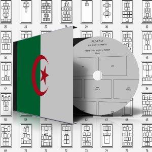 ALGERIA STAMP ALBUM PAGES 1924-2011 (165 pages)