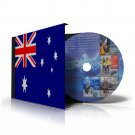 AUSTRALIA ANTARCTICA STAMP ALBUM PAGES 1957-2011 (24 color illustrated pages)