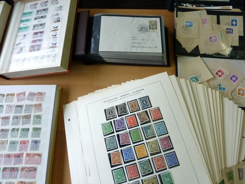 MASSIVE GERMANY STAMP COLLECTION (BRD + REICH + DDR...)