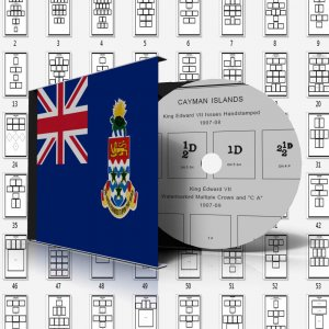 CAYMAN ISLANDS STAMP ALBUM PAGES 1900-2011 (146 pages)
