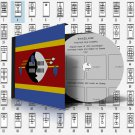 SWAZILAND STAMP ALBUM PAGES 1889-2010 (94 pages)