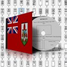 BERMUDA STAMP ALBUM PAGES 1865-2011 (125 pages)