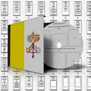 VATICAN CITY STAMP ALBUM PAGES 1929-2011 (193 pages)