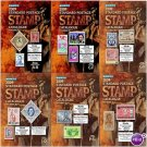 SCOTT STAMP CATALOGUE 2009 - COMPLETE 6 VOLUMES (A-Z)
