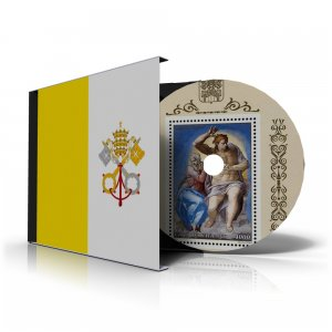 VATICAN CITY STAMP ALBUM PAGES 1921-2011 (191 color illustrated pages)